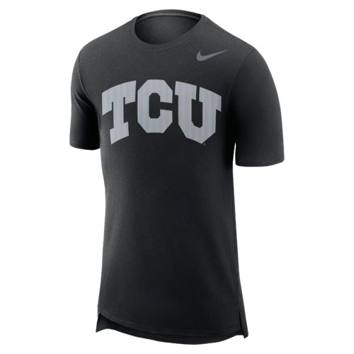 Nike™ Men's Texas Christian University Enzyme Droptail T-shirt