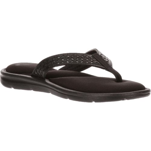 O'Rageous Women's Laser-Cut Memory Thong Sandals - view number 2