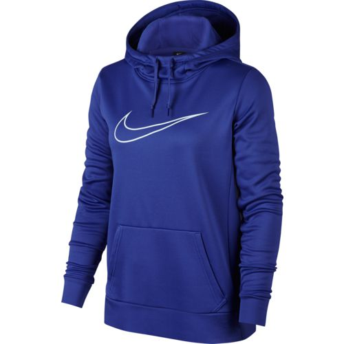 Display product reviews for Nike Women's Therma Pullover Swoosh Training Hoodie