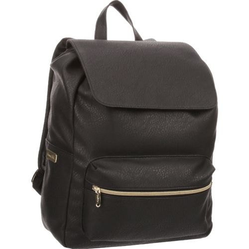 Emma & Chloe Girls' Leatherette Backpack - view number 2