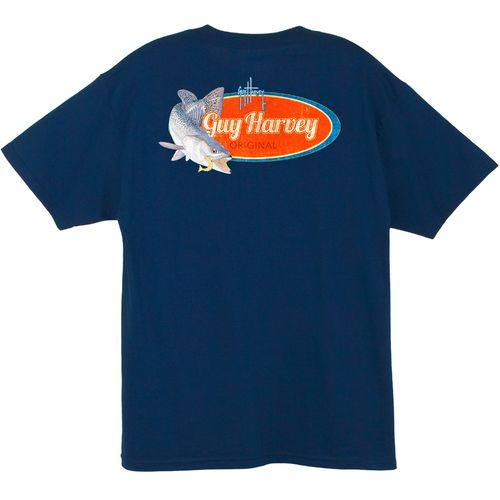 Guy Harvey Men's Speckles Pocket T-shirt - view number 4