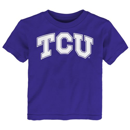 Gen2 Toddlers' Texas Christian University Primary Logo Short Sleeve T-shirt