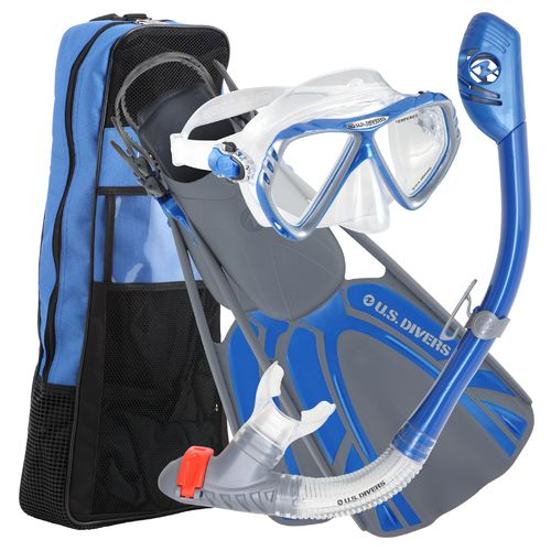 Display product reviews for U.S. Divers Adults' Regal Silicone Snorkeling Set