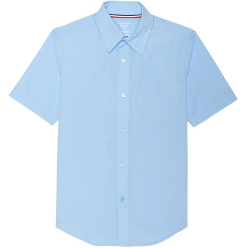 French Toast Boys' Short Sleeve Uniform Dress Shirt