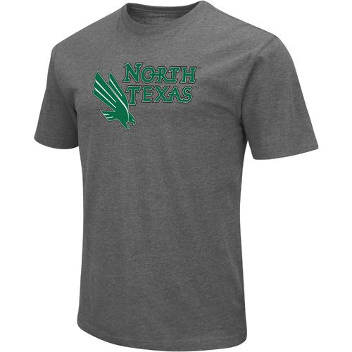 Colosseum Athletics Men's University of North Texas Logo Short Sleeve T-shirt