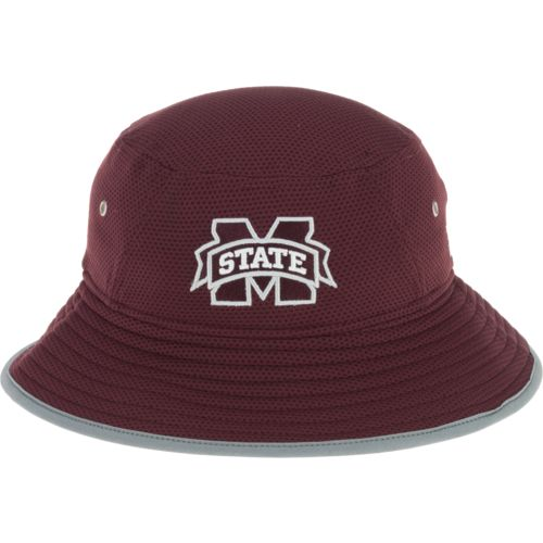 New Era Men's Mississippi State University Training Bucket Hat - view number 1