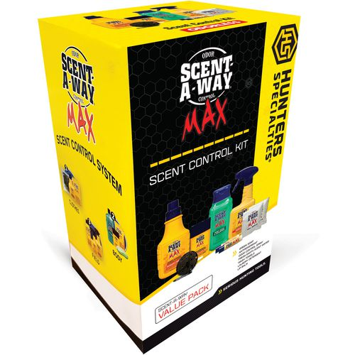 Hunter's Specialties Scent-A-Way MAX Odorless Kit
