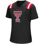 Colosseum Athletics Girls' Texas Tech University Rugby Short Sleeve T-shirt - view number 1