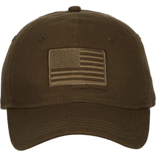 Display product reviews for Academy Sports + Outdoors Men's Tonal American Flag Solid Twill Hat