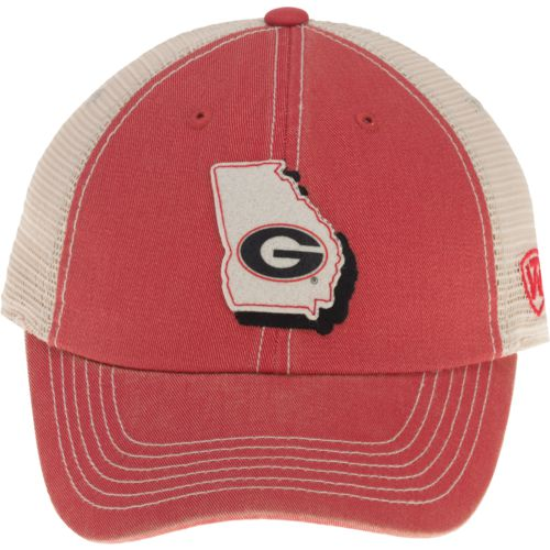 Top of the World Men's University of Georgia United 2-Tone Adjustable Cap - view number 1