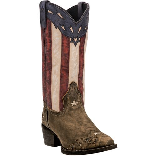 Laredo Women's Keyes Leather Western Boots