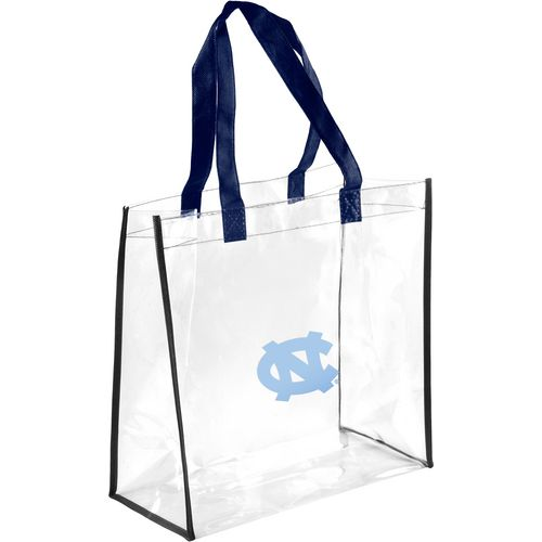 Forever Collectibles University of North Carolina Clear Reusable Bag