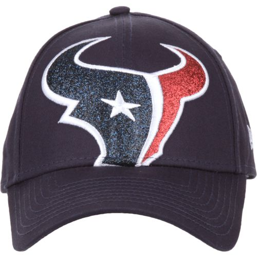 New Era Women's Houston Texans Glitter Glam 9FORTY Cap