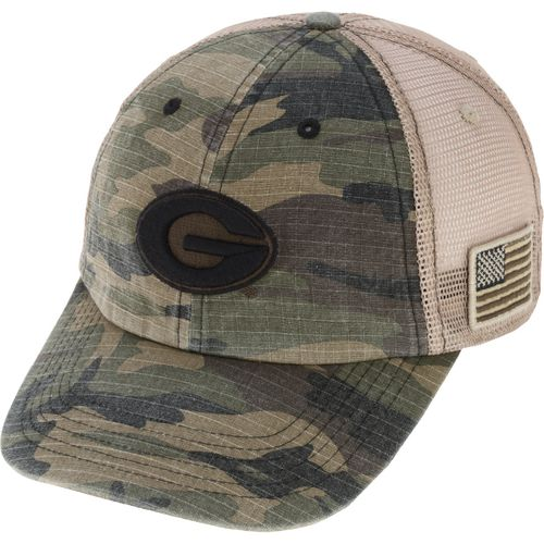 Top of the World Men's University of Georgia Declare 2-Tone Adjustable Cap - view number 2
