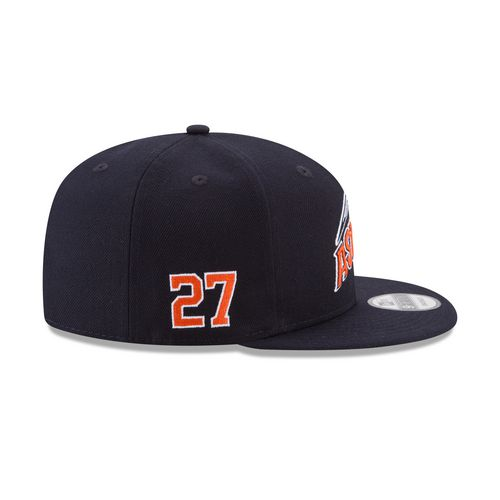 New Era Men's Houston Astros Jose Altuve 27 9FIFTY Snapback Tech Cap - view number 7