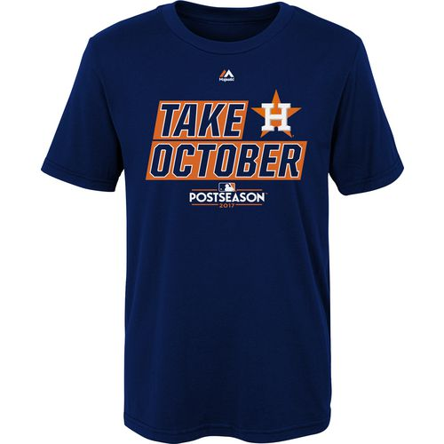 Majestic Little Kids' Astros Take October Division T-Shirt