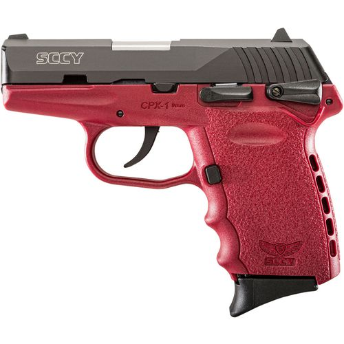 SCCY CPX-1 Carbon Crimson 9mm Luger Pistol - view number 1