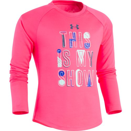 Under Armour Girls' This Is My Show Long Sleeve T-shirt