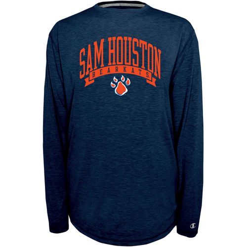 Champion Men's Sam Houston State University In Pursuit Long Sleeve T-shirt