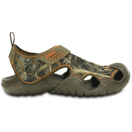 Display product reviews for Crocs Men's Swiftwater Realtree Max-5 Sandals