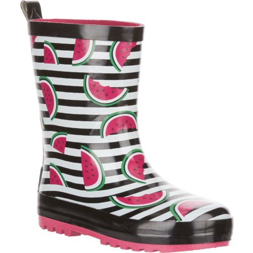 Austin Trading Co. Girls' Rubber Watermelon Boots - view number 2