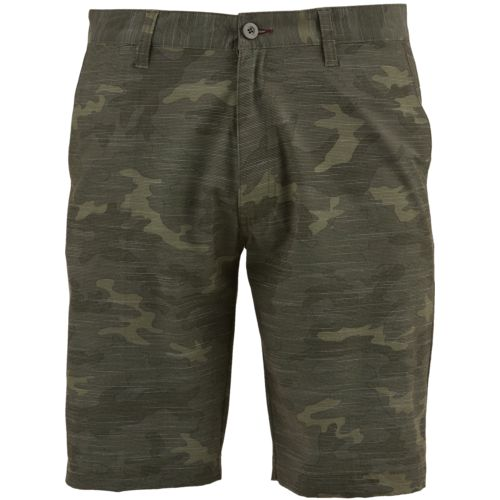 O'Rageous Men's Primitive Stretch Hybrid Camo Boardshorts