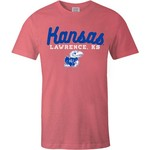Image One Women's University of Kansas Forever Script Flag T-shirt - view number 2