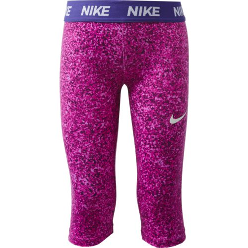 Display product reviews for Nike Toddler Girls' Dri-FIT Sport Essentials Capri Pant
