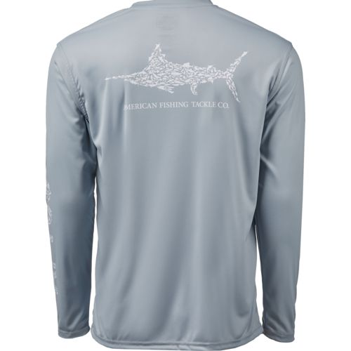 Display product reviews for AFTCO Bluewater Men's Jigfish Performance Long Sleeve T-shirt