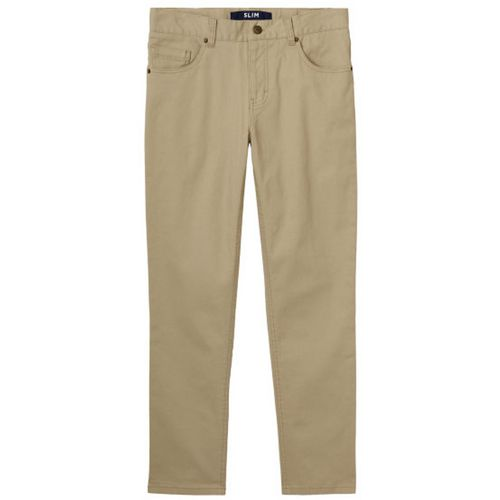 French Toast Boys' Stretch Slim 5-Pocket Husky Pants