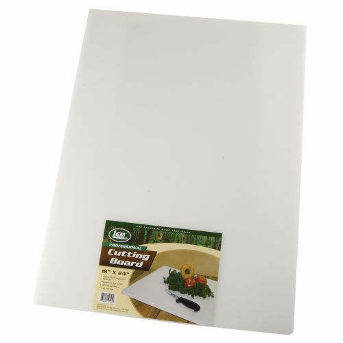"Display product reviews for LEM 18"" x 24"" Cutting Board"