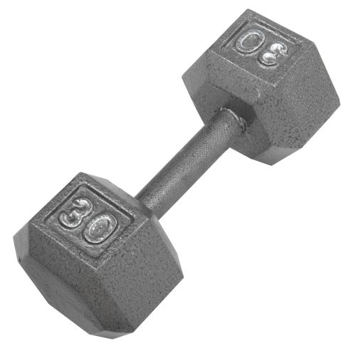CAP Barbell 30 lb. Solid Hex Dumbbell