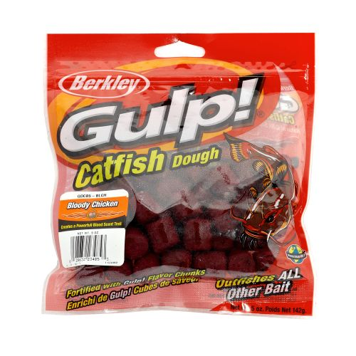 Display product reviews for Berkley® GULP!® Catfish Dough Fish Attractant
