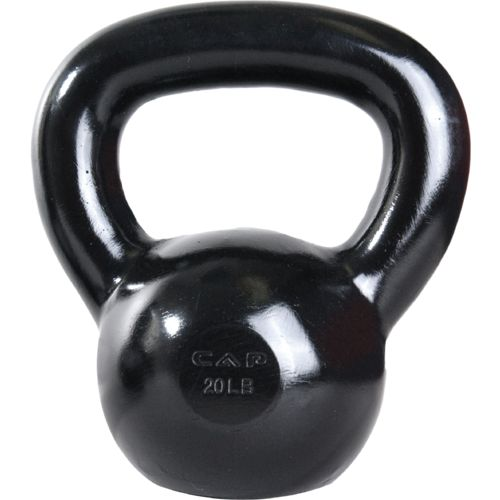 Display product reviews for CAP Barbell 20 lb. Cast Iron Kettlebell