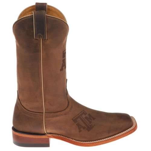 Nocona Men's Texas A&M University Branded Western Boots