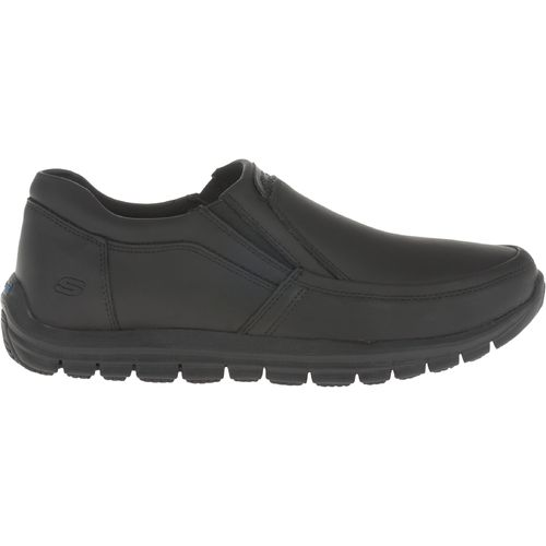 SKECHERS Men s Solace Slip-Resistant Low-Top Work Boots