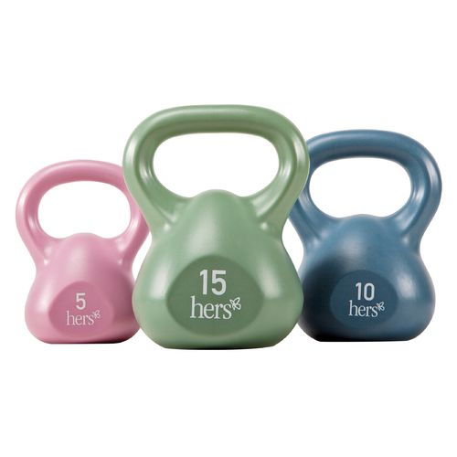Hers 3-Piece Kettlebell Set - view number 1