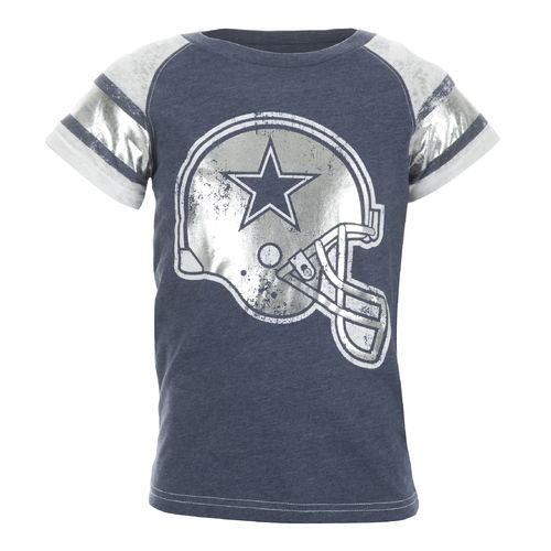Dallas Cowboys Girls' Big D Jersey T-shirt