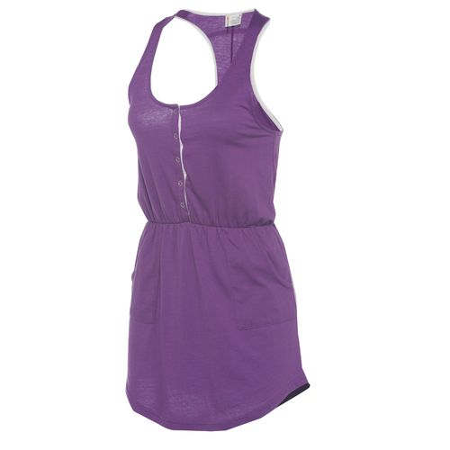 O'Rageous® Women's Henley Racer Tank Dress