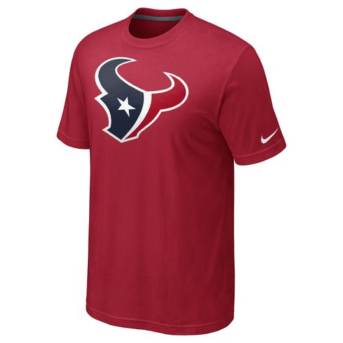 Nike Men s Houston Texans Oversized Team Logo T-shirt