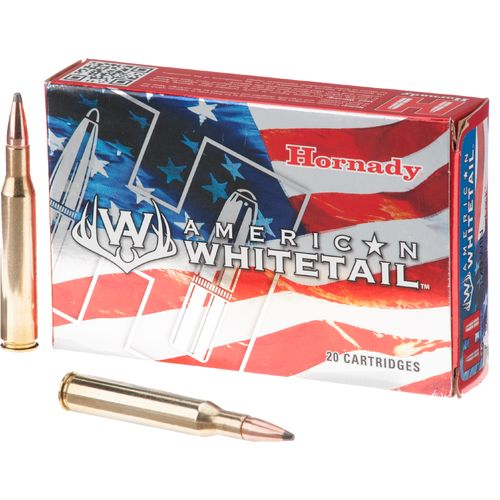 Hornady InterLock® SP American Whitetail™ .270 Win 130-Grain Centerfire Rifle Ammunition
