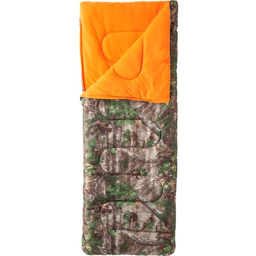 Game Winner® Boys' Realtree Xtra® 50°F Rectangle Sleeping Bag