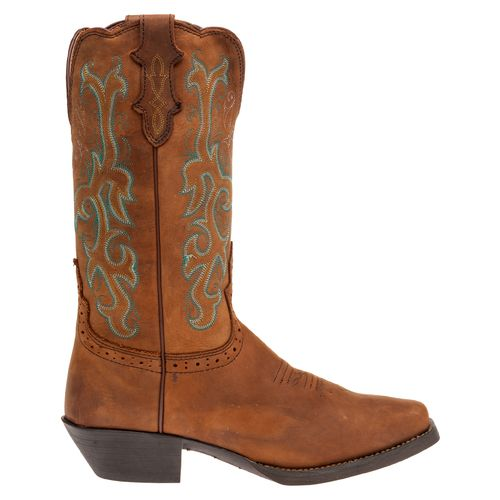 Display product reviews for Justin Women's Stampede Sorrel Apache Western Boots