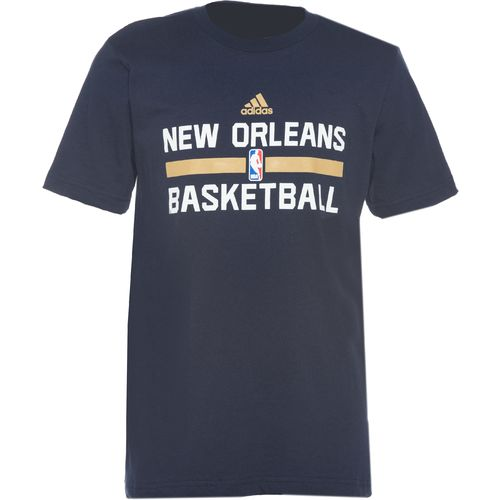 adidas Boys' New Orleans Pelicans Practice Wear T-shirt