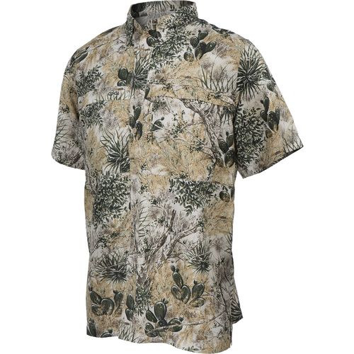 Display product reviews for GameGuard Men's Microfiber Vented Fishing Short Sleeve Shirt
