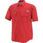 Colosseum Athletics Men's University of Georgia Swivel Fishing Shirt