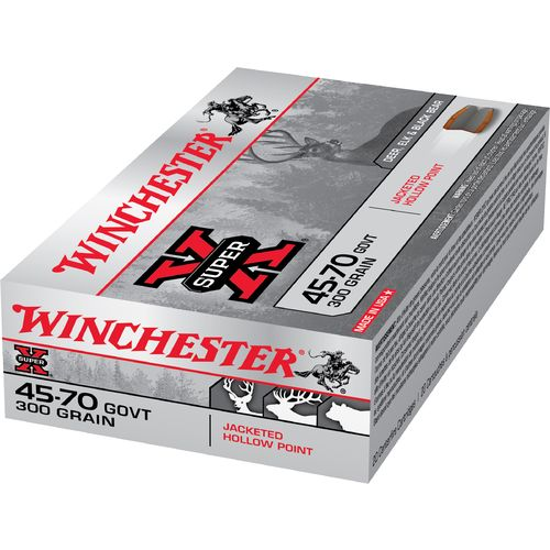 Display product reviews for Winchester Super-X .45-70 Government 300-Grain JHP Centerfire Rifle Ammunition