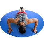 CAP Barbell 5' Round Fitness Mat