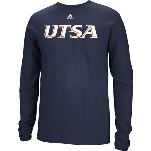 adidas™ Men's University of Texas at San Antonio Team Font Long Sleeve T-shirt