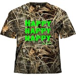 Duck Commander Boys' Realtree Max-4® Happy Happy Happy T-shirt